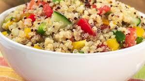 Taboulé de quinoa et lentilles corail aux légumes