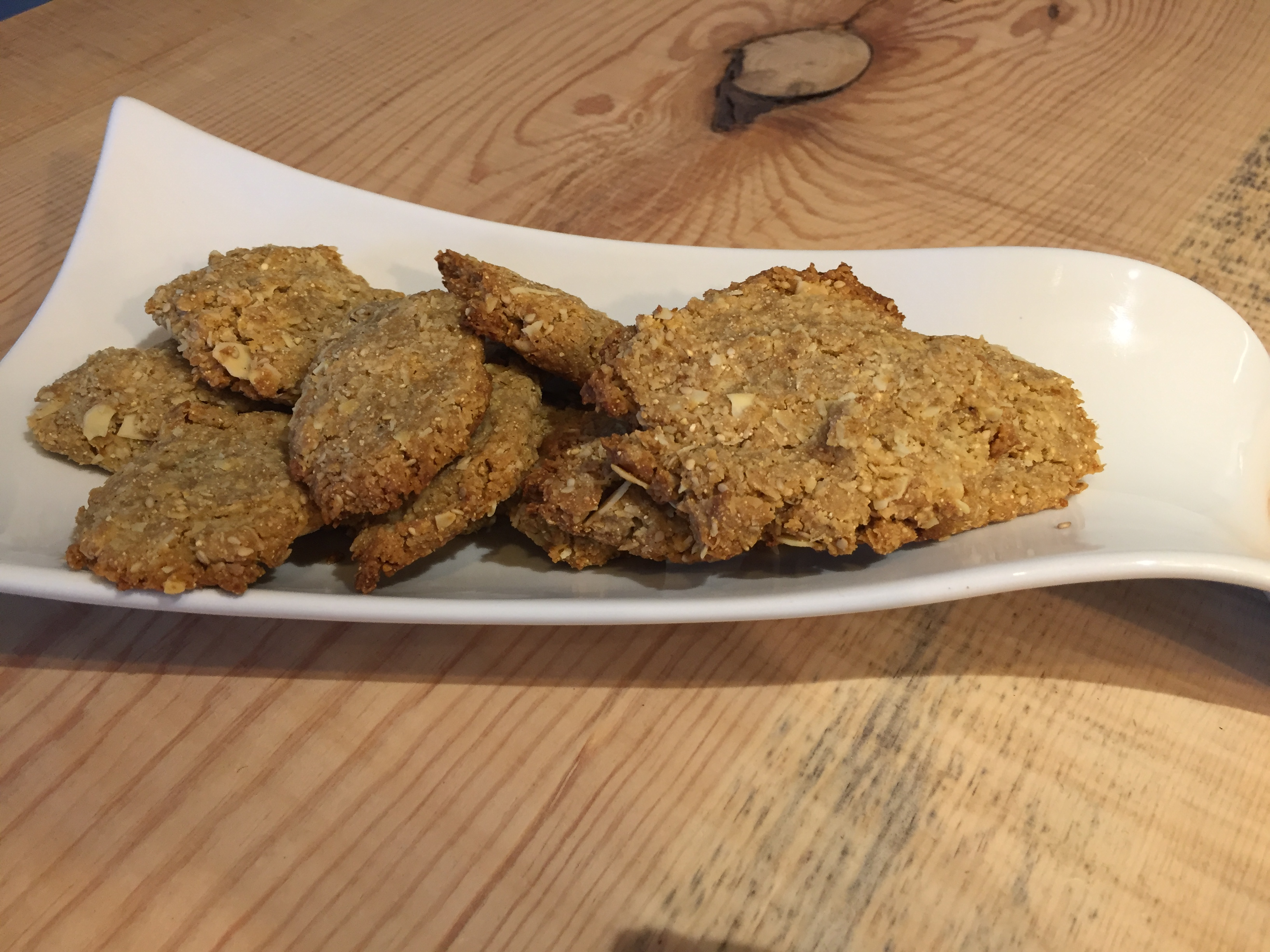 Biscuits aux amandes et/ou coco sans gluten ni lactose