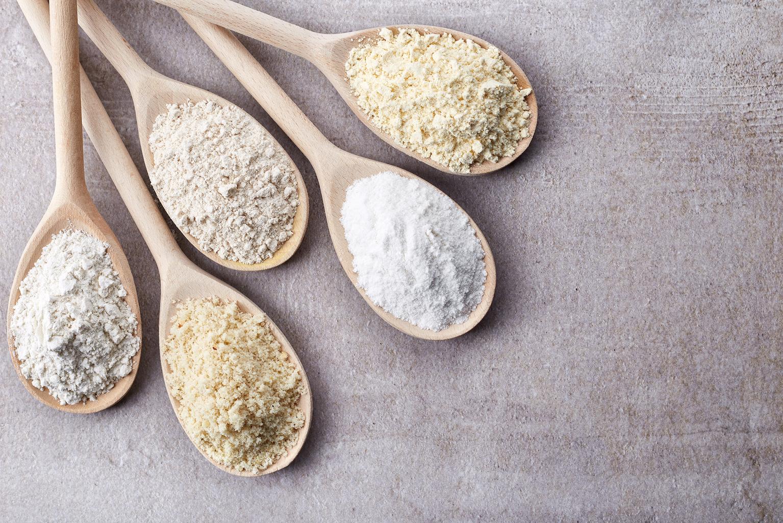 5 mix de farine sans gluten.