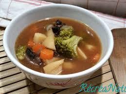 Soupe Miso au brocoli