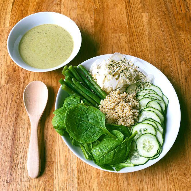 Green salade détox
